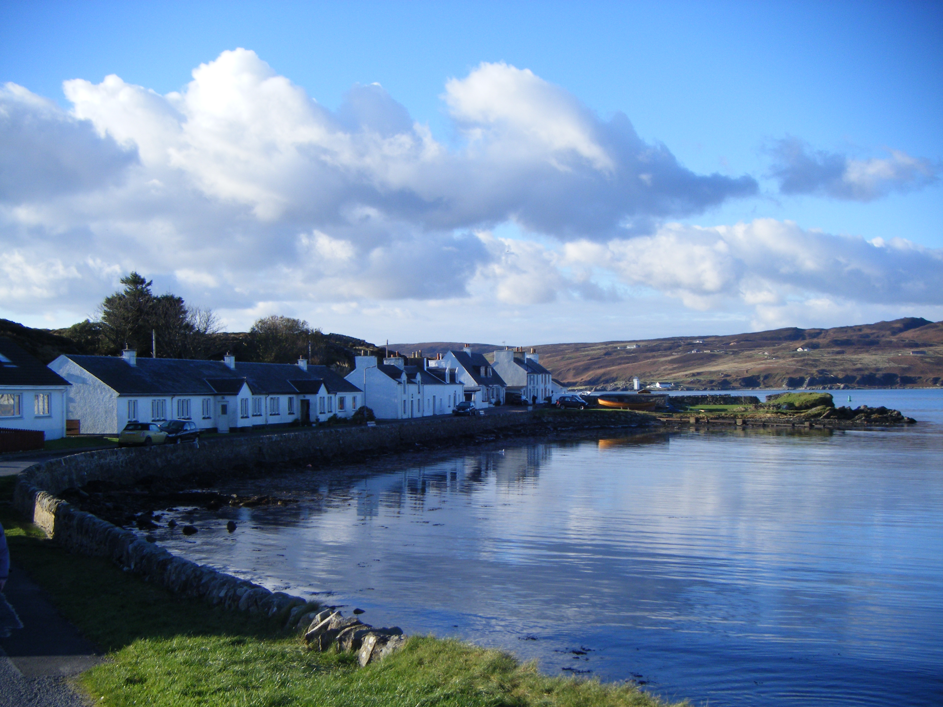 Port Ellen - Fredereck Crescent and the Ard