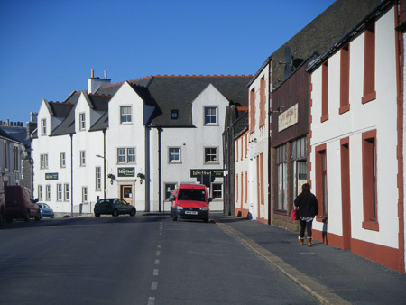 Port Ellen - Islay Hotel and Frederick Crescent