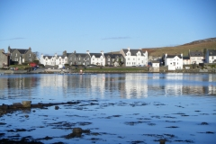 Port Ellen - Fredereck Crescent fron the beach