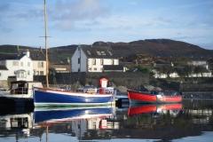 Port Ellen - harbour moorings