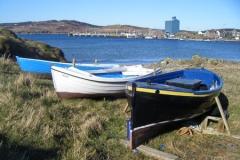 Port Ellen - old rowing boats